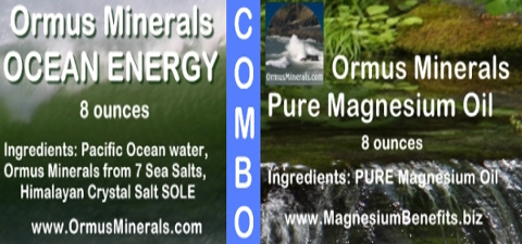 Ormus Minerals Ocean Energy with PURE Magnesium Oil 8 ounces